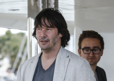 Keanu Reeves a Cannes, irriconoscibile