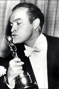 US entertainer Bob Hope shown in photo dated 20 Ma