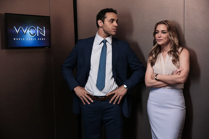 Scena dalla serie tv Notorious