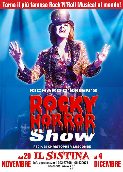 rocky horror picture show Sistina