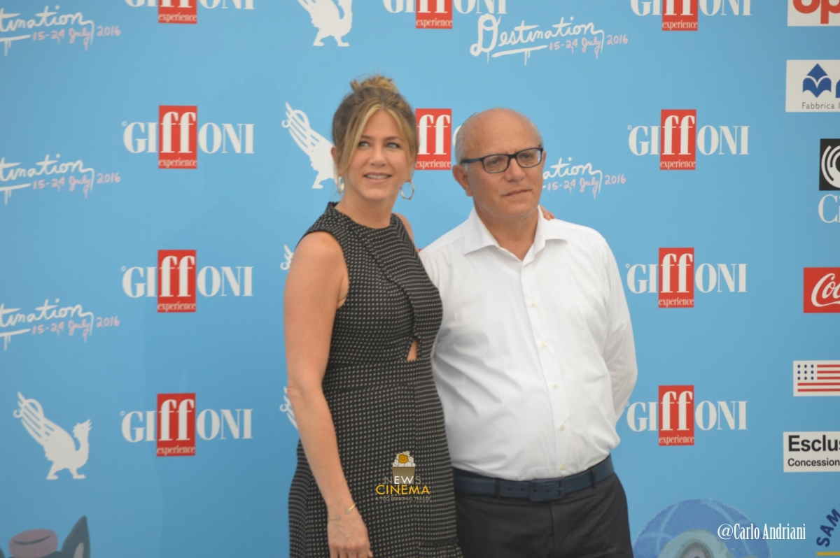 Jennifer Aniston e Claudio Gubitosi