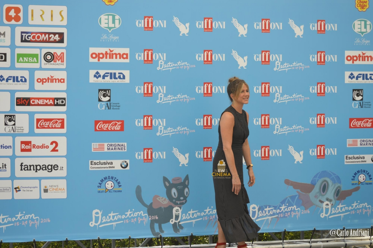 Jennifer Aniston Giffoni Film Festival