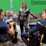 avengers-downey-whedon-hemsworth-evans-set-photo-01-600x451