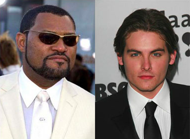 Laurence-Fishburne-e-Kevin-Zegers