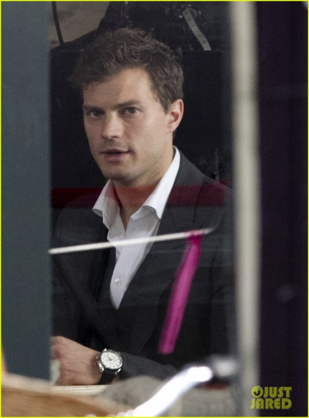 Jamie Dornan Begins Filming 'Fifty Shades Of Grey'