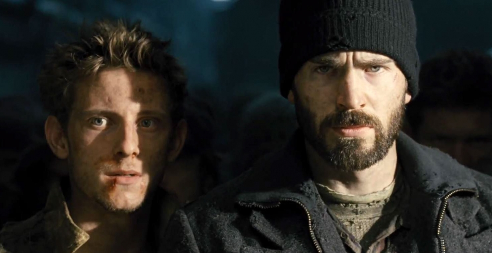 Jamie-Bell-and-Chris-Evans-in-Snowpiercer-2013-Movie-Image