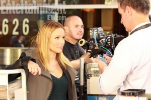 Kristen-Bell-on-set-of-the-Veronica-Mars-Movie-585x390