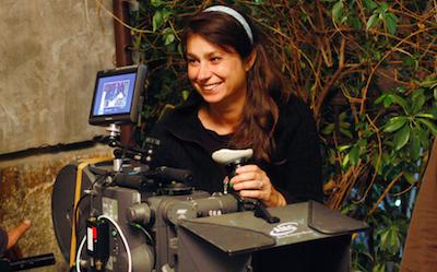 Francesca Archibugi sul set