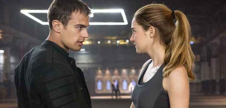 Divergent interviste cast