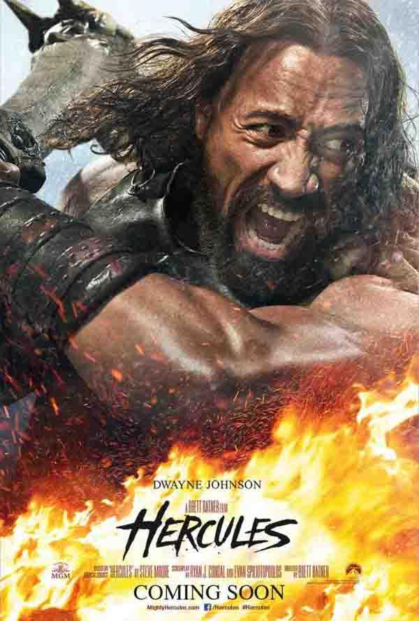 Hercules Il Guerriero teaser poster
