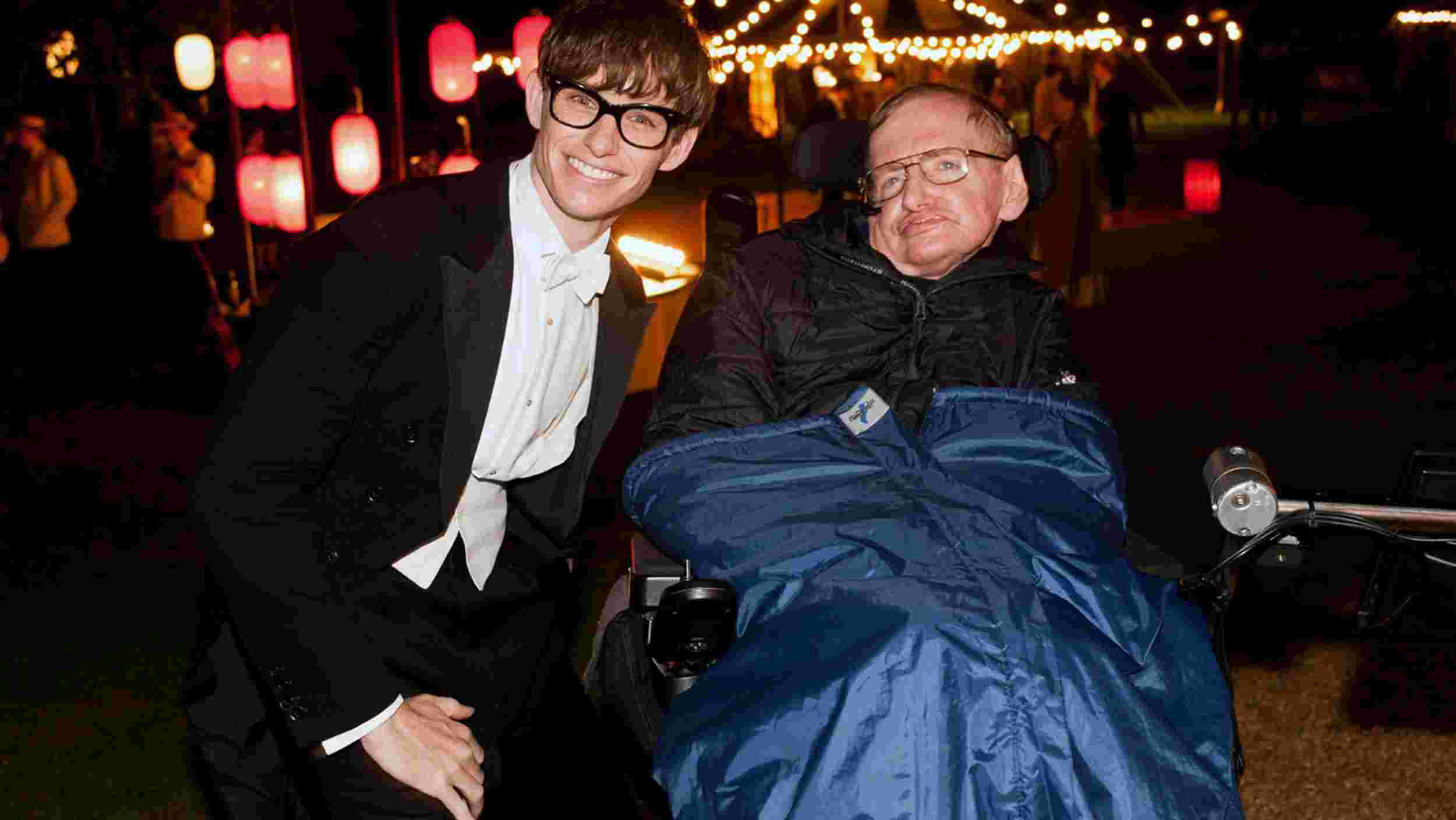La Teoria Del Tutto Film Backstage Stephen Hawking