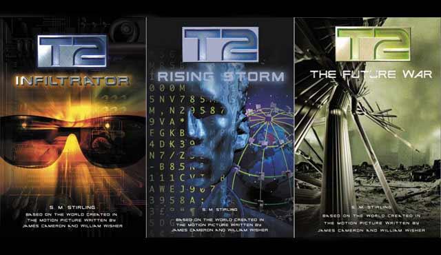 Ci sono stati alcuni romanzi legati al franchise di Terminator. Ma T2 Trilogy di SM Stirling è stato forse il più interessante in quanto ha introdotto Dieter von Rossbach, un ex agente anti-terrorismo austriaco che è stato il modello umano per il T-800. Dieter viene descritto nell'orbita di John e Sarah Connor mentre alla fine lo portano nella loro futura guerra con Skynet. La serie ha anche introdotto il modello I-950 del Terminator Infiltrator, nato umano e modificato per provare emozioni e confondersi con gli esseri umani normali, per un lungo periodo di tempo. La storia si svolge in tre romanzi: T2: Spy, T2: Rising Storm, e T2: The Future War.