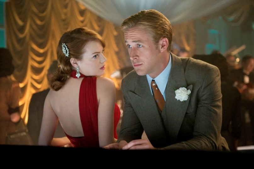 Emma Stone e Ryan Gosling in La La Land