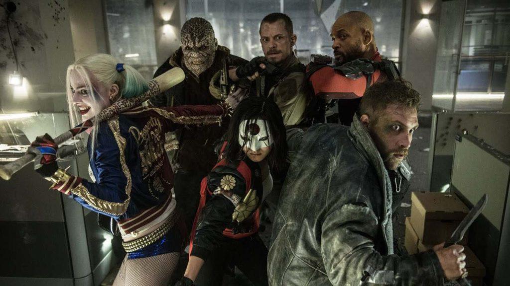 La Suicide Squad al completo