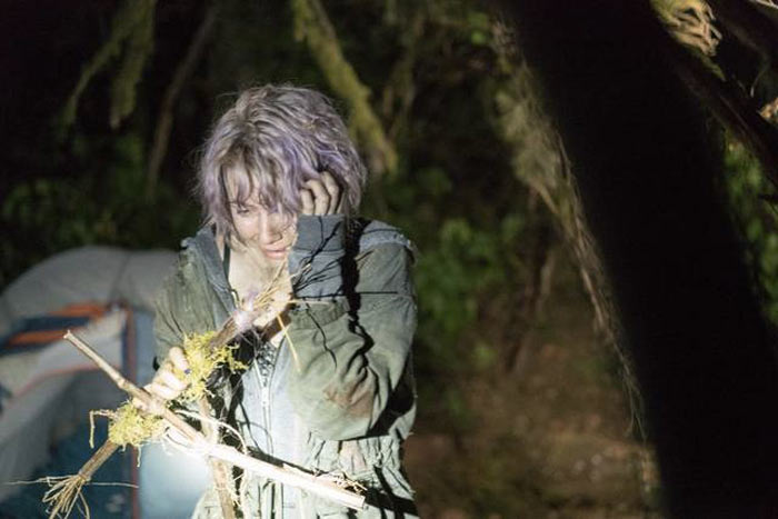 Una scena dal film Blair Witch
