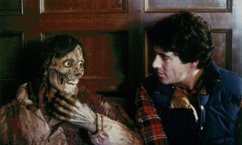 Scena dal film Un lupo mannaro americano a Londra di John Landis