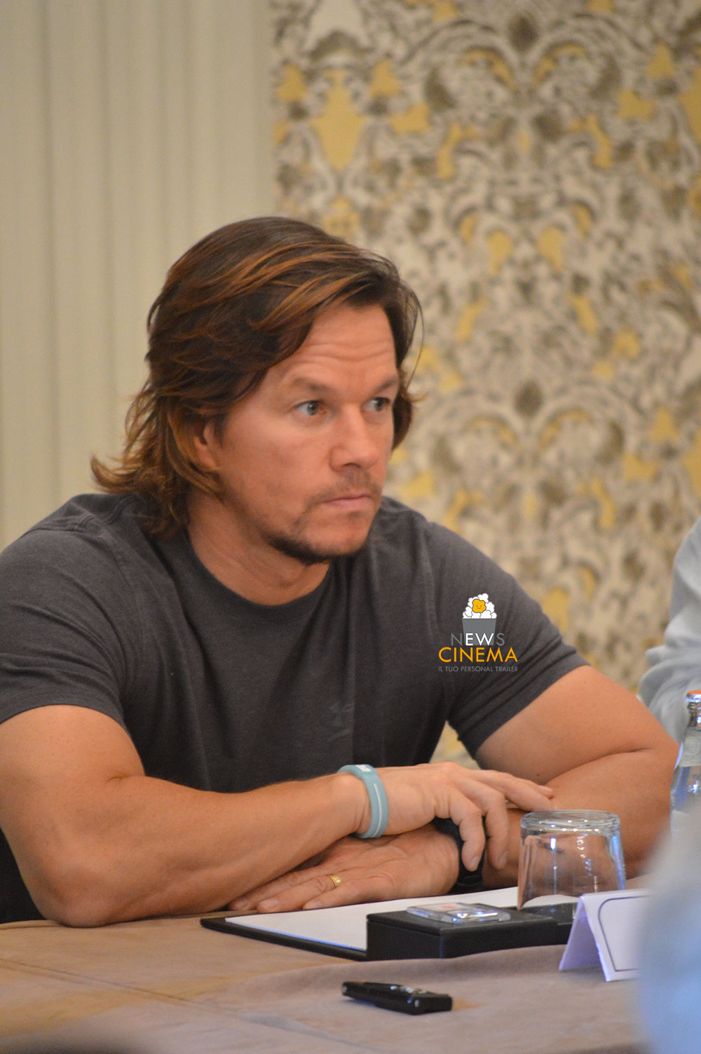 Mark Wahlberg a Roma per Deepwater - Inferno sull'Oceano