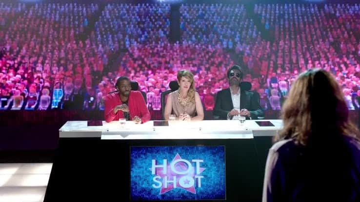 hot shot black mirror