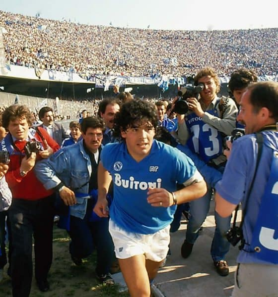 diego maradona stadio san paolo@alfredo capozzi