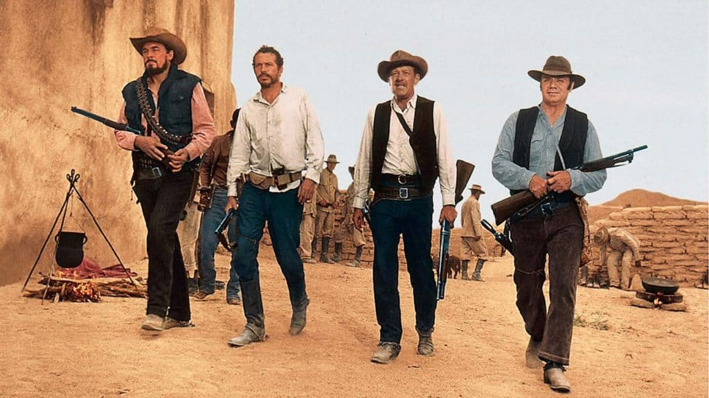 ben johnson warren oates ernest borgnine william