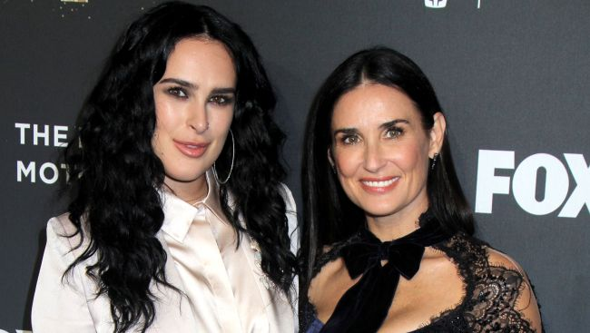 rumer willis e demi moore