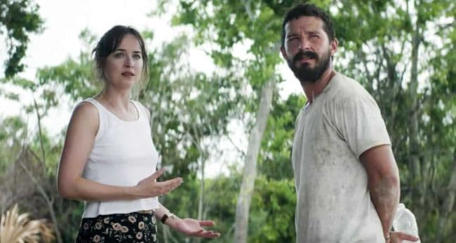 dakota johnson e shia labeouf