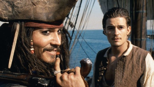 johnny depp e orlando bloom