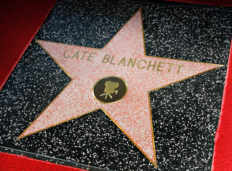 cate blanchett walkoffame