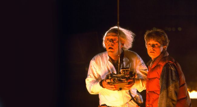 michael j. fox e christopher lloyd