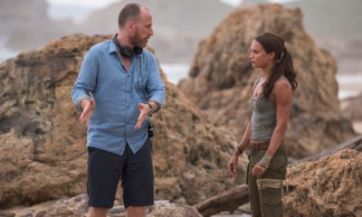 roar uthaug and alicia vikander filming tomb riaider