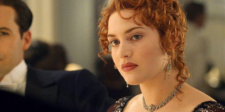 kate winslet as rose in titanic